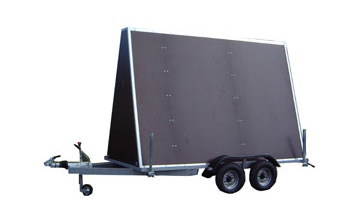 Advertising trailers for sale at the best prices