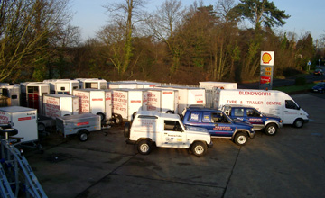 Trailers for sale, Portsmouth Hampshire, Brenderup trailers dealer UK