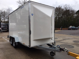 Blue Line Dainish trolley trailers UK sales
