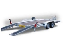 Brian James car transporter Amax