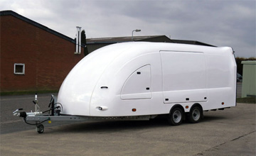 Enclosed Covered Car Trailers Transport Vehicles Safely