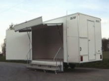 Colorado exhibition trailers from Blendworth Trailer Centre