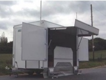 Montana exhibition trailers from Blendworth Trailer Centre