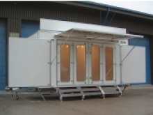Oregon exhibition trailers from Blendworth Trailer Centre