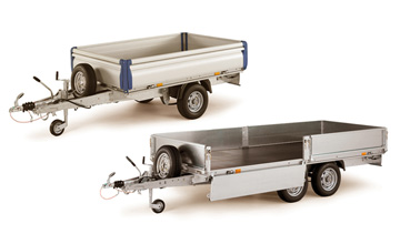 Flatbed trailers for sale, Ifor Williams flatbed trailers Hampshire, Portsmouth flatbeds