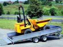 Ifor Williams flatbed CT166 with optional dropsides, headboard and 3' loading ramp