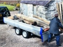 Eurolight Ifor Williams flatbed trailers