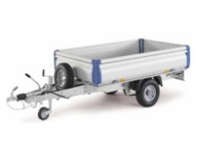 Ifor Williams flatbed trailers - Eurolight EL101-2012 with optional aluminium easylatch dropsides, tailboard and headboard