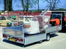 Ifor Williams flatbed trailers - LM146