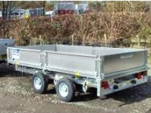 Ifor Williams flatbed trailers - LT105
