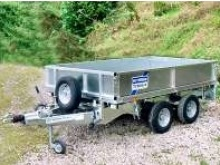 Ifor Williams flatbed trailers - LT85