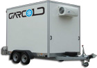 Fridge trailers for hire, freezer trailers for hire UK