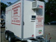 Freezer trailers from Blendworth Trailer Centre, fridge trailer hire
