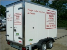 Fridge and freezer trailers, fridge trailers for hire