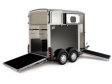 Ifor Williams HB506 Double Horsebox Trailer