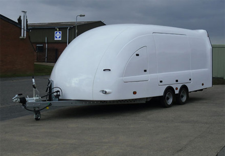 Enclosed Covered Car Trailers Transport Vehicles Safely Woodford