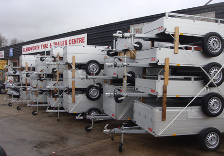 Fridge trailer hire, Brenderup trailers for hire, Ifor Williams trailers for hire