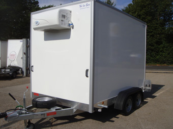 Ice Box fridge freezer trailers for sale, fridge trailer hire