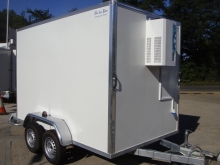 Ice Box fridge freezer trailers for sale