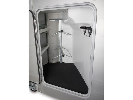 Ifor Williams HBX horsebox tack locker option