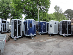 Ifor Williams horse trailers for sale