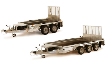 Ifor Williams plant trailers for sale, Ifor Williams plant transporters Portsmouth Hampshire, plant trailer hire