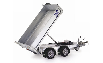 Ifor Williams tipper trailers for sale, Ifor Williams power tipper trailers Portsmouth Hampshire, tipper trailer hire