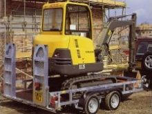 Ifor Williams GP126 Plant Transporter