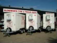 Fridge trailers for sale from Blendworth Trailer Centre, fridge trailer hire