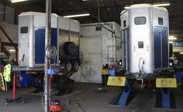 Trailer servicing Hampshire, horse trailer repairs Portsmouth Hampshire, Woodford trailer servicing