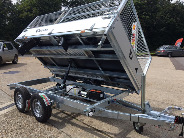 Auto Trailer For Sale Uk: Ifor Williams Power Tipper Trailers For