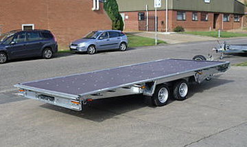 Woodford flatbed trailers