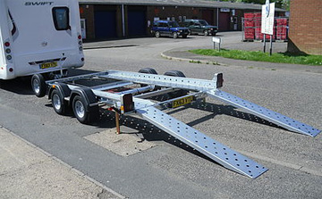 Woodford lightweight car trailers