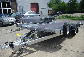 Woodford widebody car trailers